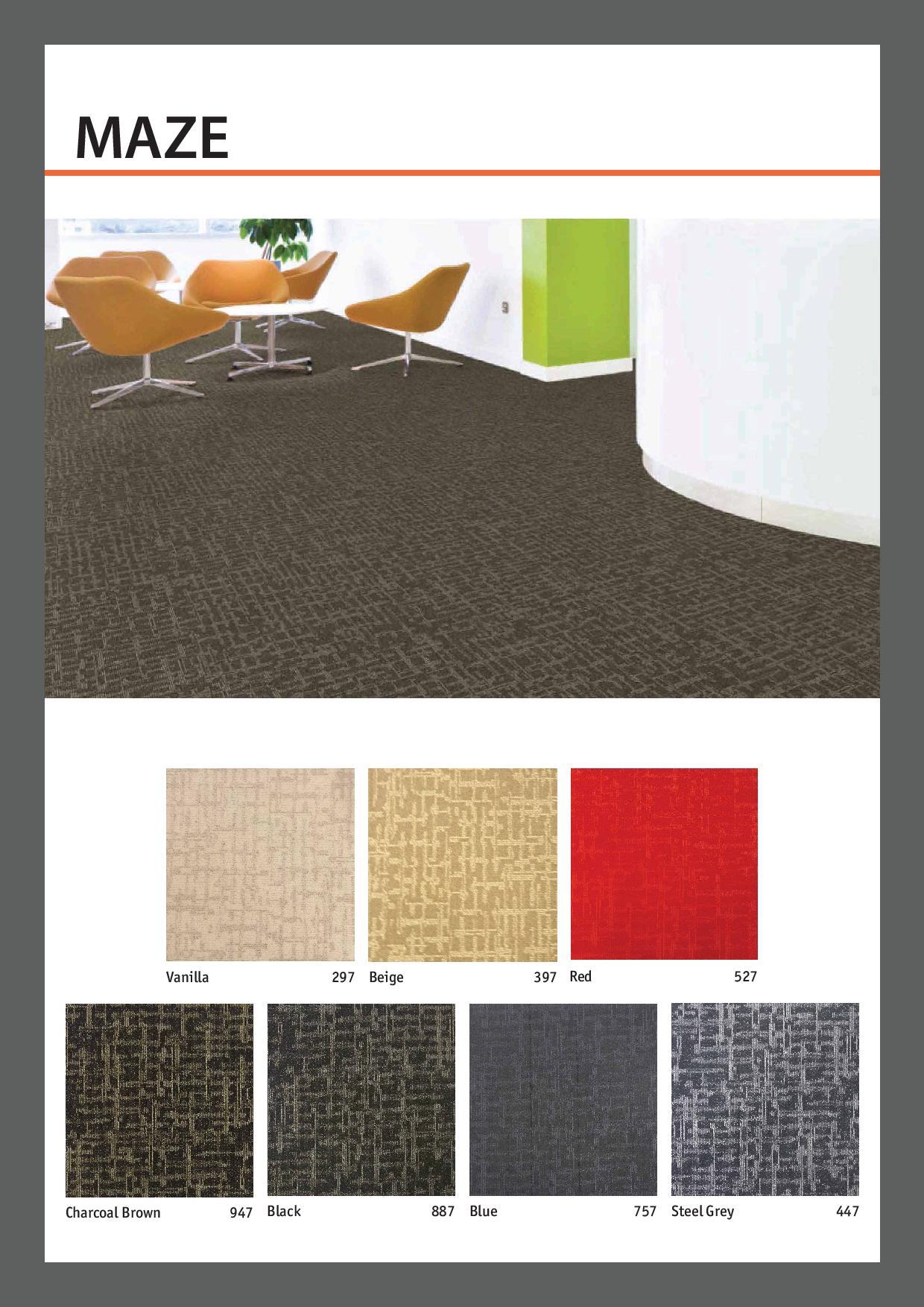 Carpet-Teile-Maze