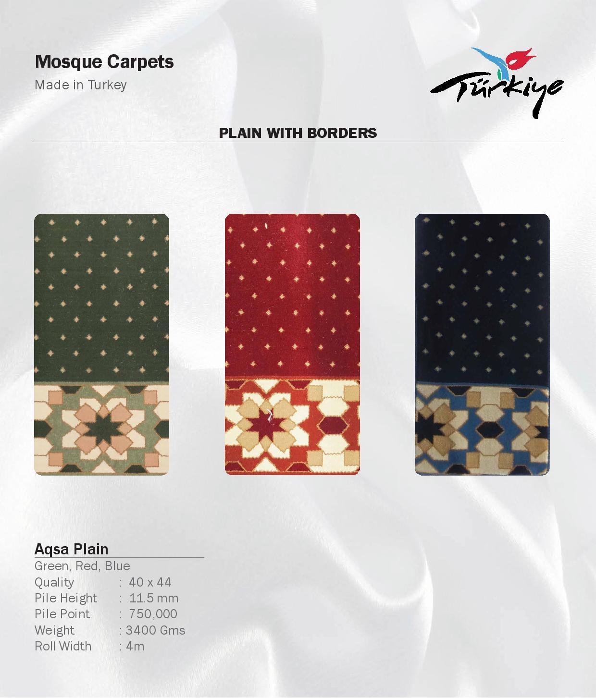 Mosque-Carpets-Aqsa Plain