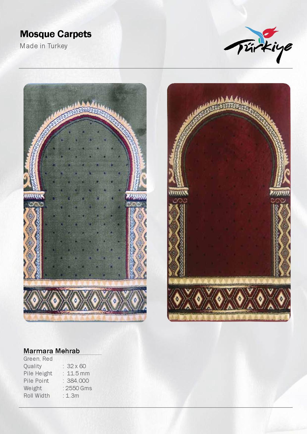 Mosque-Carpets-Marmara Mehrab