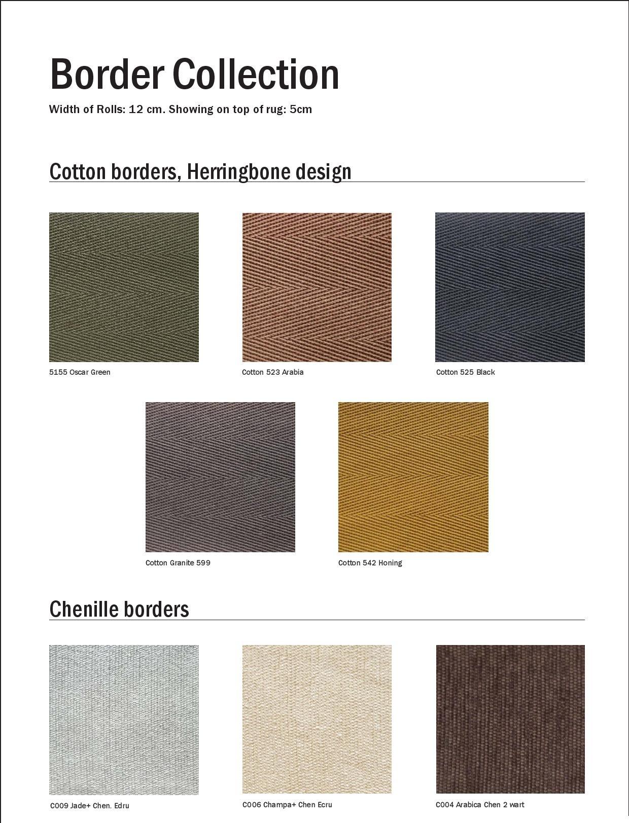 Sisal Carpet Borders