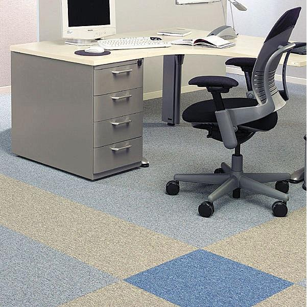 Simple Office Carpet Floor Tiles Intended Decorating